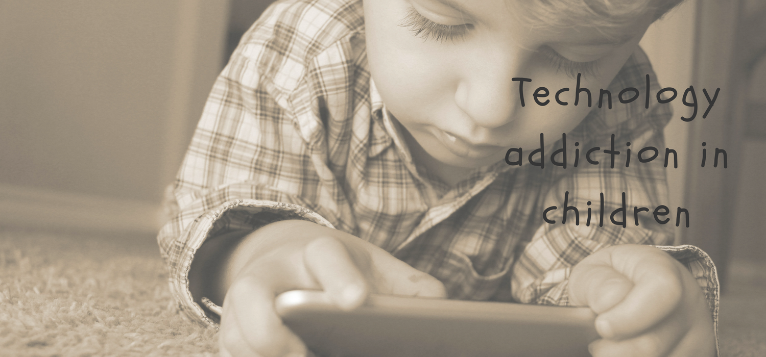 All about Child technology addiction