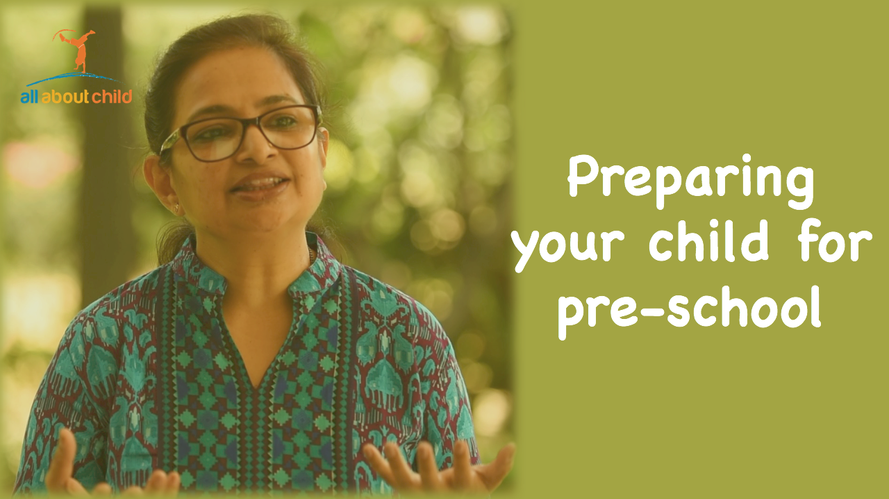 All About child Preparing a child for Preschool