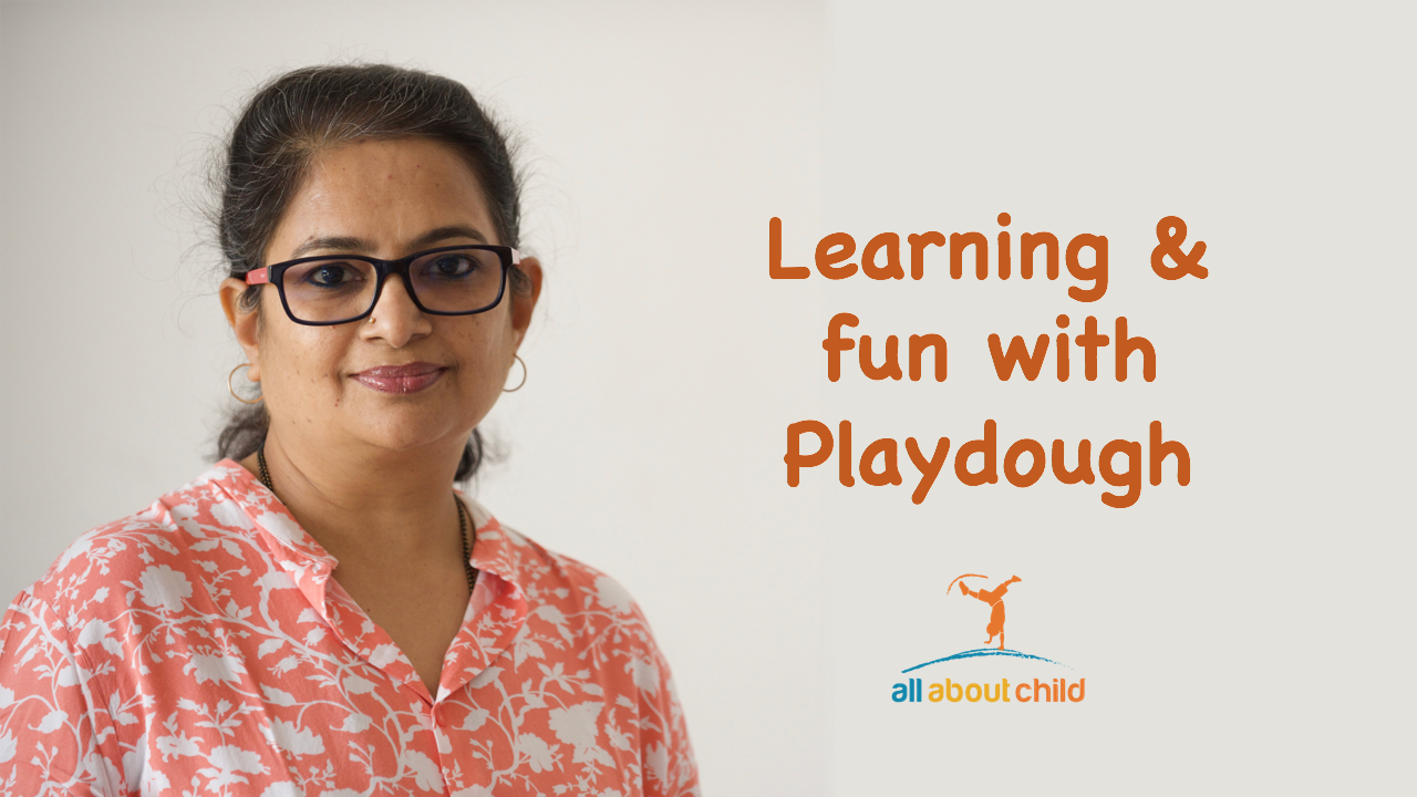 allaboutchild learning with play dough