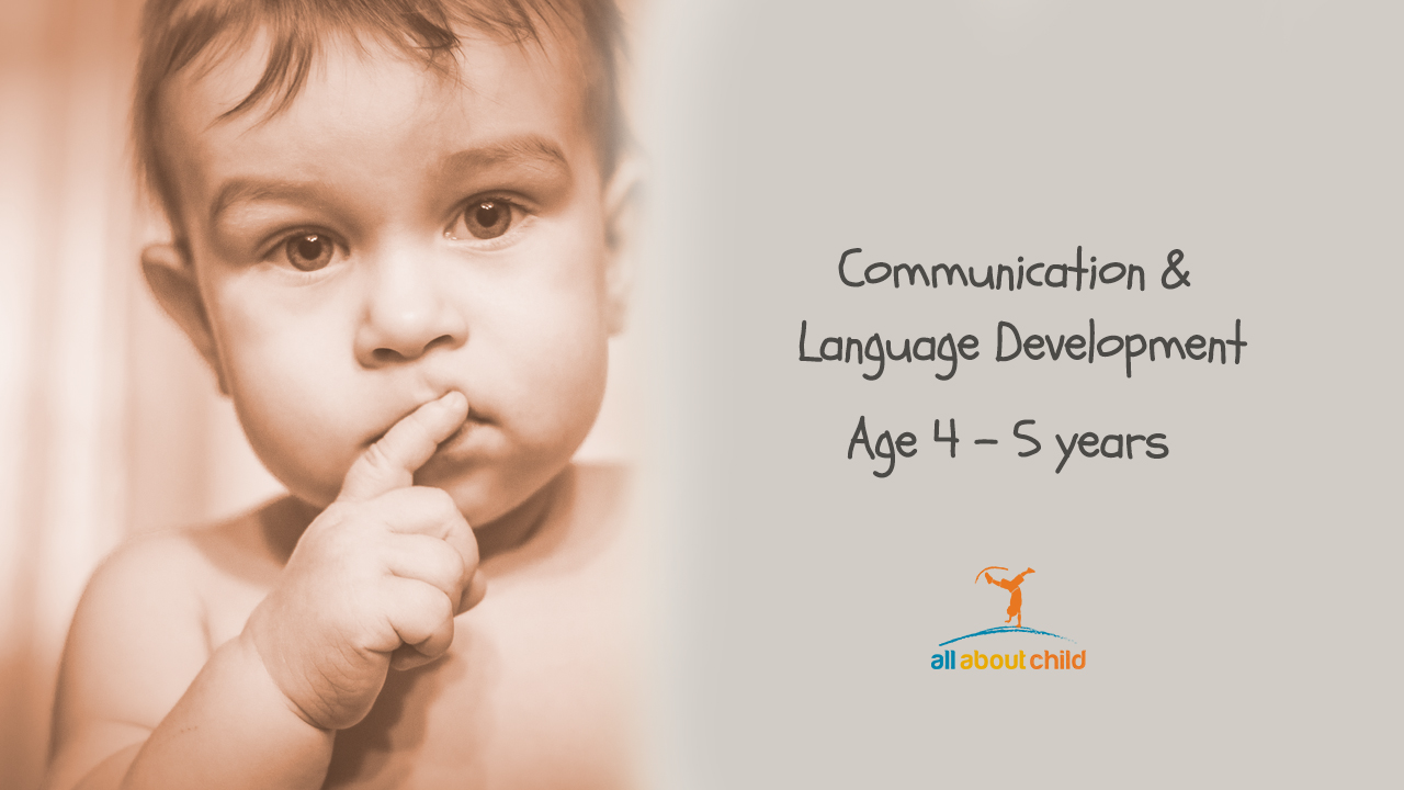 All About Child - Communication and Language Development