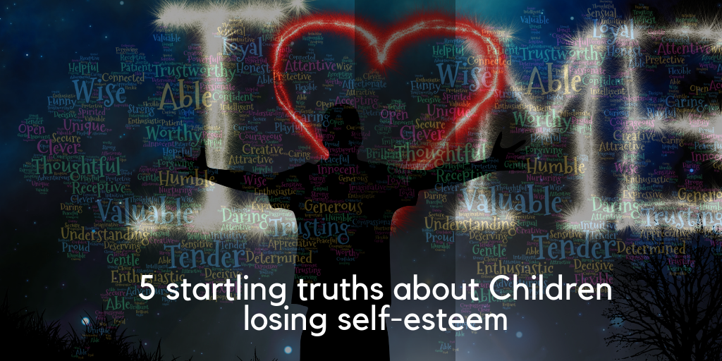 children losing self-esteem about child